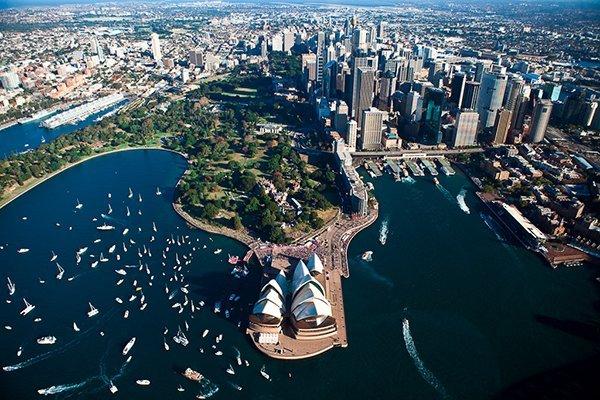 Путешествие по достопримечательностям австралии