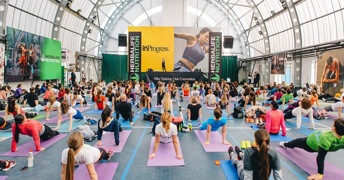 В Киеве прошла юбилейная фитнес-конвенция Nike+ Training Club